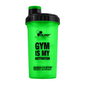 """Shaker """"Gym is My Motivation"""" Green (700 ml)"""