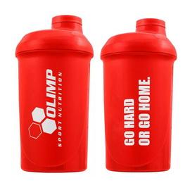 "Shaker ""Go Hard or Go Home"" Red (500 ml)"