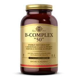 "B-Complex ""50"" (250 veg caps)"