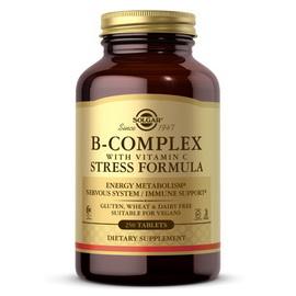 B-Complex with Vitamin C Stress Formula (250 tabs)
