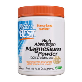 High Absorption Magnesium Powder 100% Chelated (200 g)