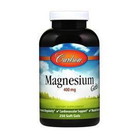Magnesium Gels 400 mg (250 softgels)