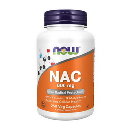 NAC 600 mg (250 veg caps)