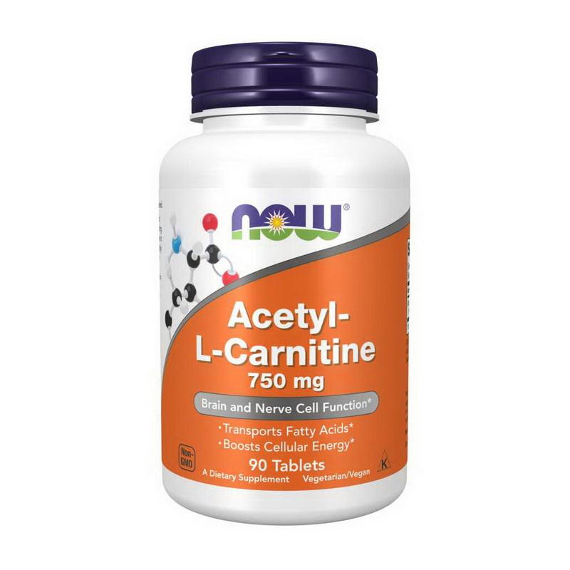 Acetyl-L-Carnitine 750 mg (90 tabs)