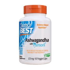 Ashwagandha with Sensoril 125 mg (60 veg caps)