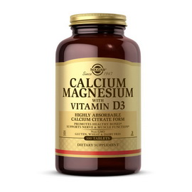 Calcium Magnesium with Vitamin D3 (300 tabs)