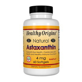 Astaxanthin 4 mg (60 softgels)