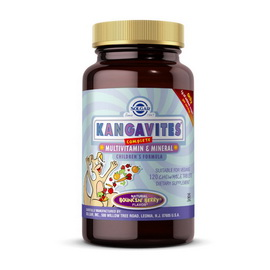 Kangavites Multivitamin & Mineral (120 chewable tabs)