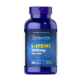L-Lysine 1000 mg Free Form (250 caplets)