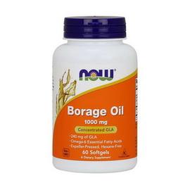 Borage Oil 1000 mg (60 softgels)