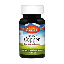 Chelated Copper 5 mg (100 tabs)