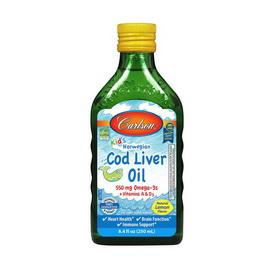 Kid's Cod Liver Oil Liquid 550 mg (250 ml)