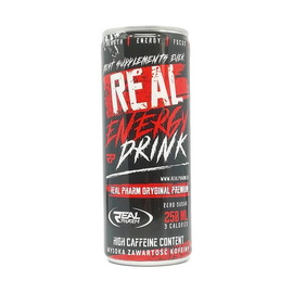 Real Energy Drink Zero Sugar (250 ml)