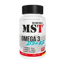 Omega 3 D3+K2 (60 softgels)