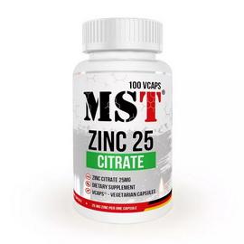 Zinc Citrate 25 mg (100 veg caps)
