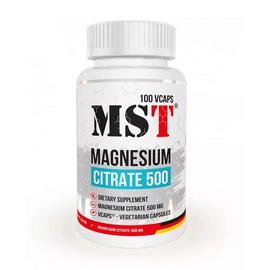 Magnesium Citrate 500 (100 veg caps)