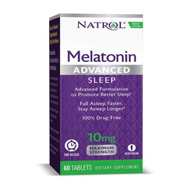 Melatonin Advanced 10 mg Time Release (60 tabs)