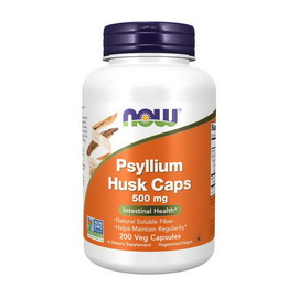 Psyllium Husk Caps 500 mg (200 veg caps)
