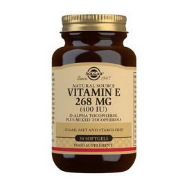 Vitamin E 268 mg (400 IU) (50 softgels)