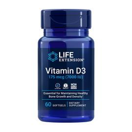 Vitamin D3 175 mcg (7000 IU) (60 softgels)