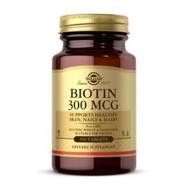 Biotin 300 mcg (100 tabs)