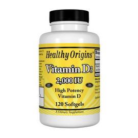 Vitamin D3 2000 IU (120 softgels)