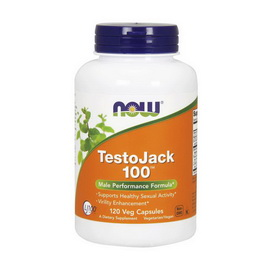 TestoJack 100 (120 veg caps)