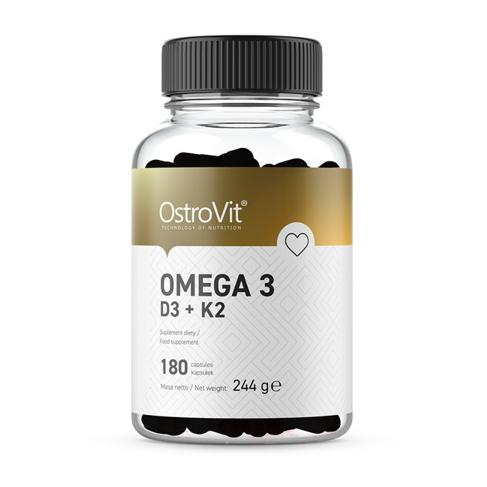 Omega 3 D3 + K2 (180 caps)