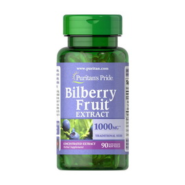 Bilberry Fruit Extract 1000 mg (90 softgels)