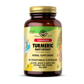 Turmeric Root Extract (60 veg caps)