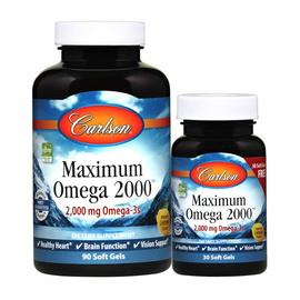 Maximum Omega 2000 mg (90+30 softgels)