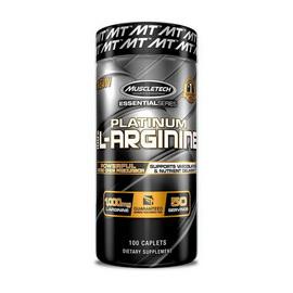 Platinum 100% L-Arginine (100 caplets)