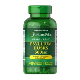 Psyllium Husks 500 mg (400 caps)