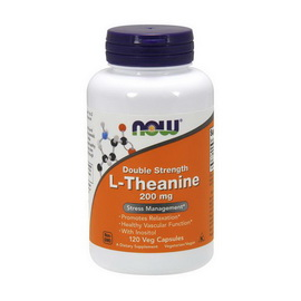 L-Theanine 200 mg Double Strength (120 veg caps)