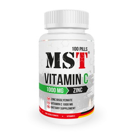 Vitamin C 1000 mg + Zinc (100 pills)