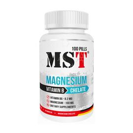 Magnesium Chelate + Vitamin B (100 pills)