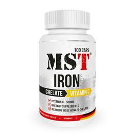 Iron Chelate + Vitamin C (100 caps)