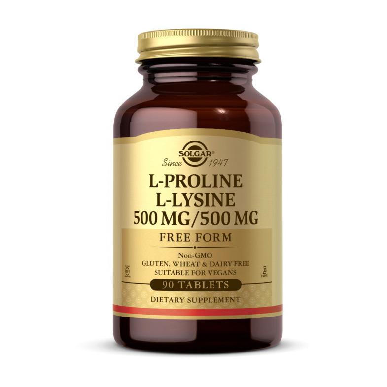 L-Proline L-Lysine 500 mg/500 mg (90 tabs)