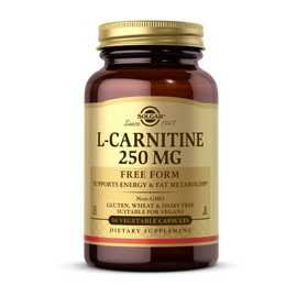 L-Carnitine 250 mg (90 veg caps)