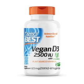 Vegan D3 2500 IU (62,5 mcg) (60 veg caps)
