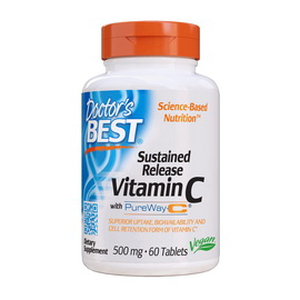 Sustained Release Vitamin C with PureWay-C (60 tabs)