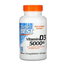 Vitamin D3 5000 IU (125 mcg) (720 softgels)