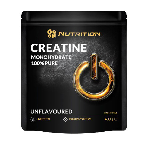 100% Creatine Monohydrate Unflavored (400 g, пакет)