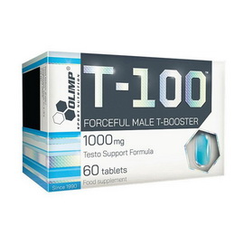 T-100 Forceful Male T-Booster (60 tabs)