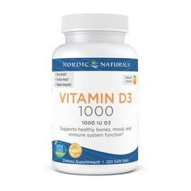 Vitamin D3 1000 IU (120 softgels)