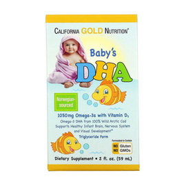 Baby's DHA with Vitamin D3 (59 ml)