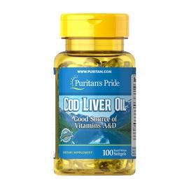 Cod Liver Oil 415 mg (100 softgels)