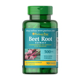 Beet Root Extract 500 mg (90 caps)