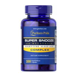 Super Snooze with Melatonin (100 caps)