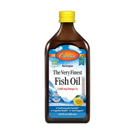 The Very Finest Fish Oil 1600 mg Omega-3s (500 ml)